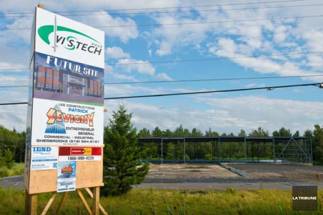 Le nouveau bâtiment occupera le terrain jadis occupé... (Imacom, Jessica Garneau)