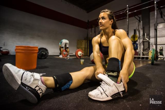 Camille Leblanc-Bazinet participe aux Jeux mondiaux de CrossFit... (Photo Martin Leblanc, archives La Presse)