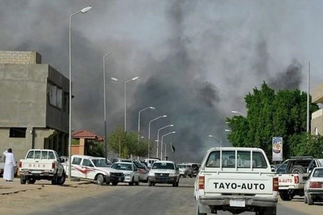Au moins 40 personnes ont péri dans des... (PHOTO TCHADPAGES.COM/TWITTER)