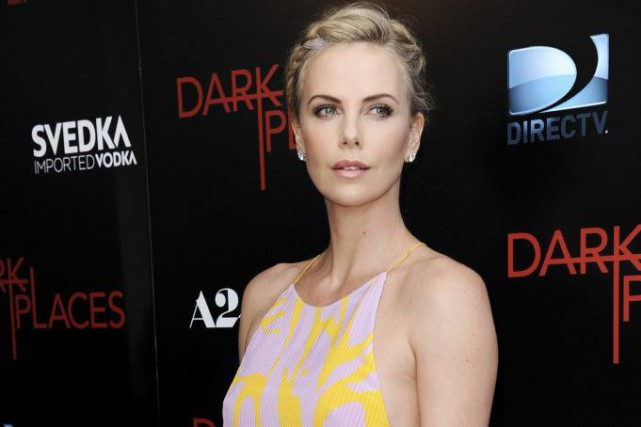 Charlize Theron... (PHOTO AP)