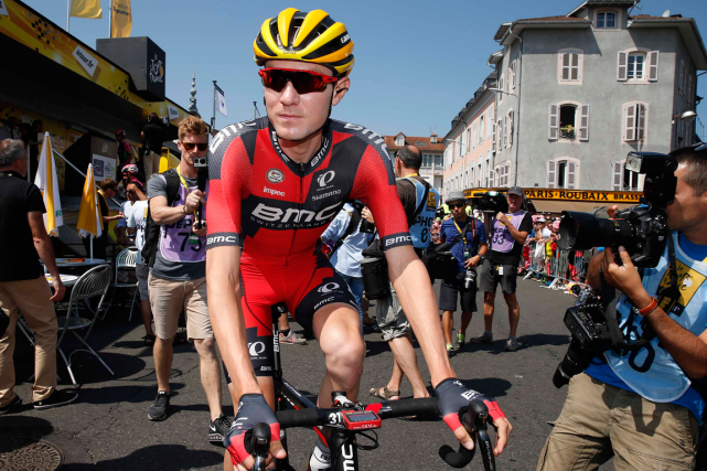 Tejay van Garderen... (Photo Benoit Tessier, Reuters)