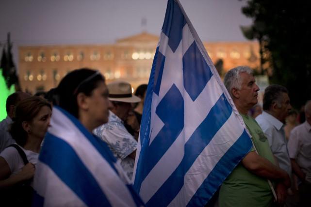 Malgré la crise, la Grèce n'a été le... (PHOTO AP)