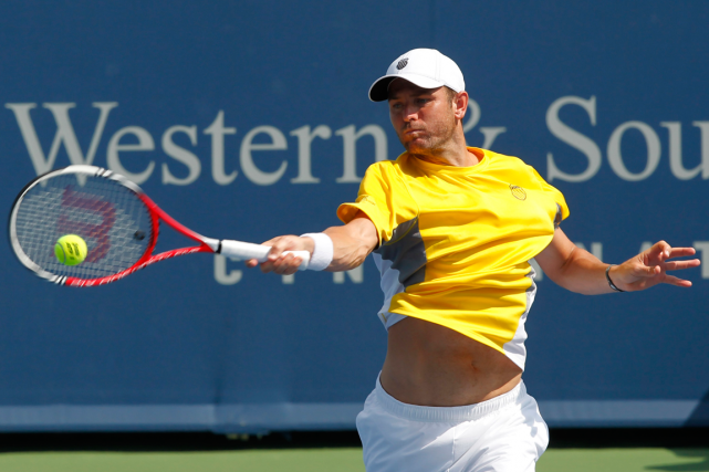 Mardy Fish n'a pris part qu'à un match en... (Photo John Sommers II, archives Reuters)
