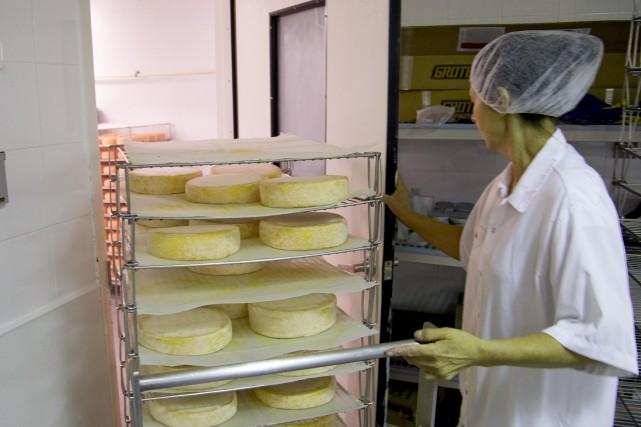 Les fromages de la région ont la cote et on vient d'en avoir une autre preuve.... (Archives La Presse)