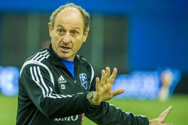 L'entraîneur-adjoint de l'Impact de Montréal, Enzo Concina.... (Photo fournie par l'Impact de Montréal)