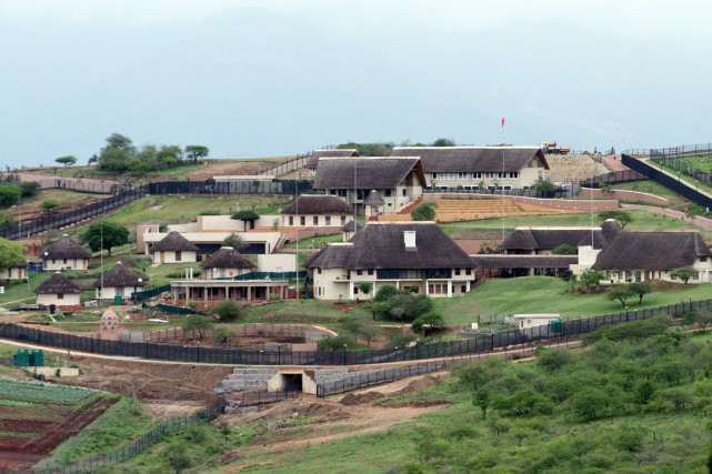 Le scandale dit «Nkandla», du nom de la... (PHOTO ARCHIVES AFP/STRINGER)