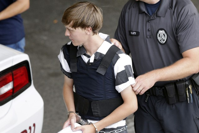 Dylann Roof... (PHOTO Chuck Burton, AP)