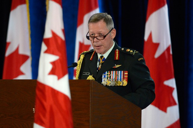 Le nouveau chef d'état-major, Jonathan Vance, aura fort... (PHOTO Adrian Wyld, ARCHIVES LA PRESSE CANADIENNE)