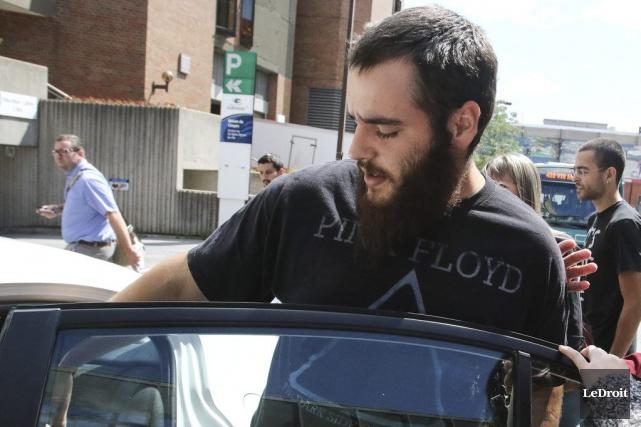 Daniel Lefebvre, 25 ans, était derrière les barreaux... (Patrick Woodbury, LeDroit)