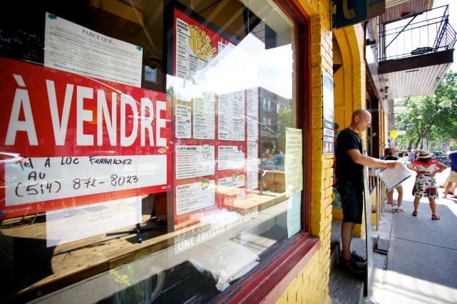 Depuis quelques années, de nombreux commerçants ont dénoncé... (Photo Sarah Mongeau-Birkett, archives La Presse)