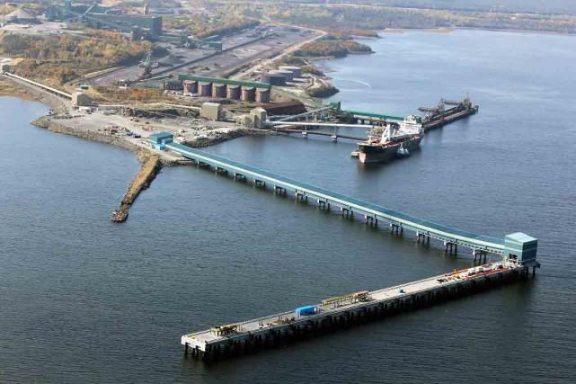 Le Port de Sept-Îles conteste «vigoureusement» les sommes... (Photo fournie par le Port de Sept-Îles)