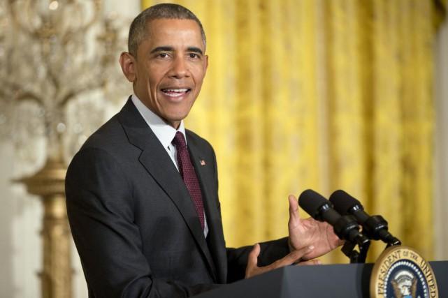 Obama s'envolera jeudi pour Nairobi, au Kenya, patrie... (Photo Pablo Martinez Monsivais, AP)