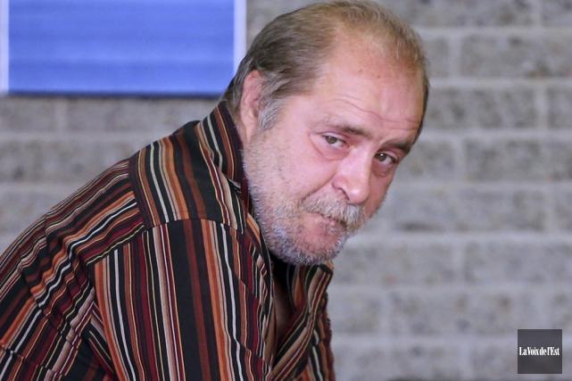 L'homme de 54 ans au casier criminel bien... (photo La Voix de l'Est)