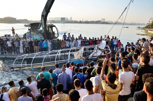 D'après des responsables de la sécurité, les passagers... (PHOTO SAMER ABDULLAH, AP)