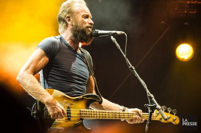 La barbe de Sting a bien fait jaser... (Photo fournie par Paléo Festival)