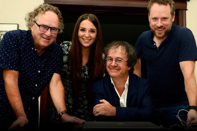 La chanteuse franco-ontarienne et Ottavienne d'adoption Céleste Lévis a annoncé... (Photo Charles Laberge)