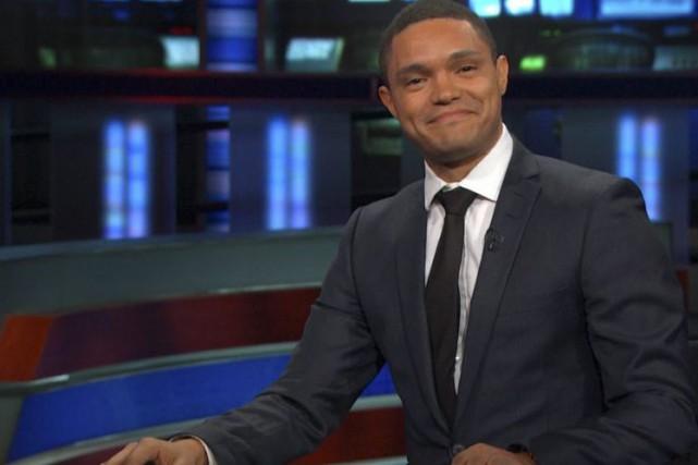 Pour Trevor Noah, qui prend le siège de Jon Stewart à la barre du populaire... (PHOTO FOURNIE PAR NEW YORK TIMES)