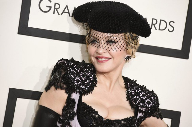 Madonna... (PHOTO ARCHIVES AP)
