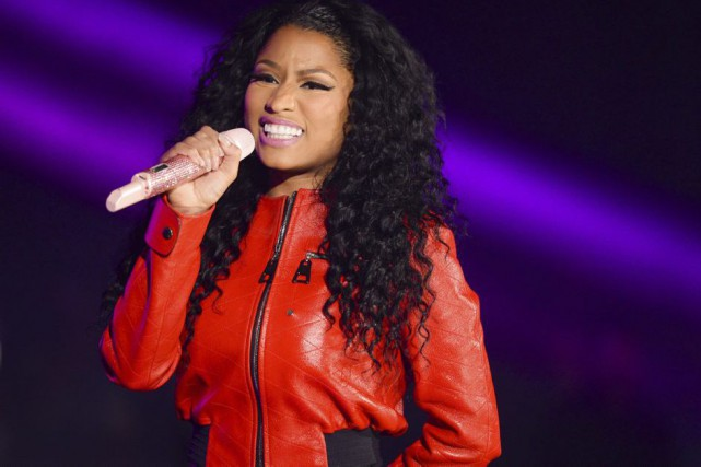 Nicki Minaj... (PHOTO ARCHIVES AP)
