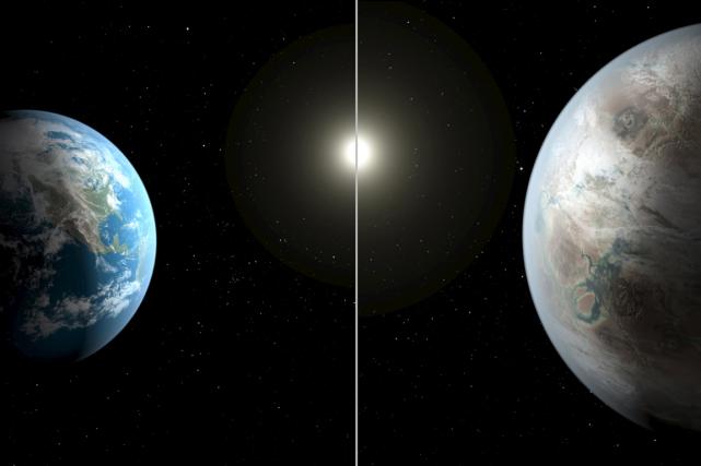 Située à 1400 années-lumière de la Terre, cette... (PHOTO REUTERS/NASA)