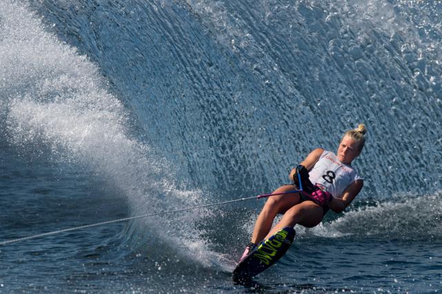 Whitney McClintock, une spécialiste du ski nautique,a remporté... (Photo Darren Calabrese, PC)