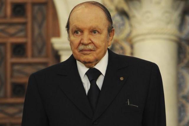 Le président algérien Abdelaziz Bouteflika... (Archives AFP)