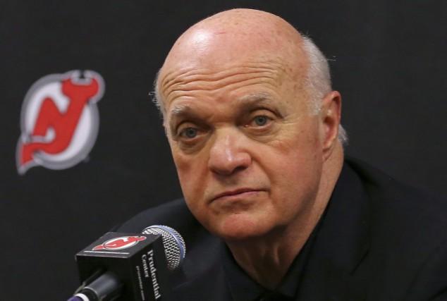 Lou Lamoriello quitte les Devils pour les Maple... (Archives La Presse Canadienne)
