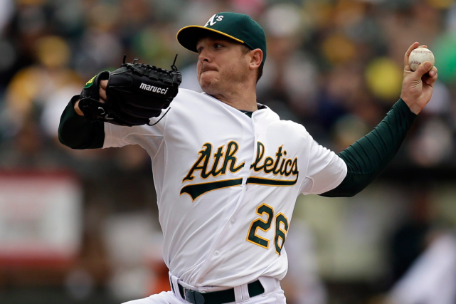 Scott Kazmir... (Photo Ben Margot, archives AP)