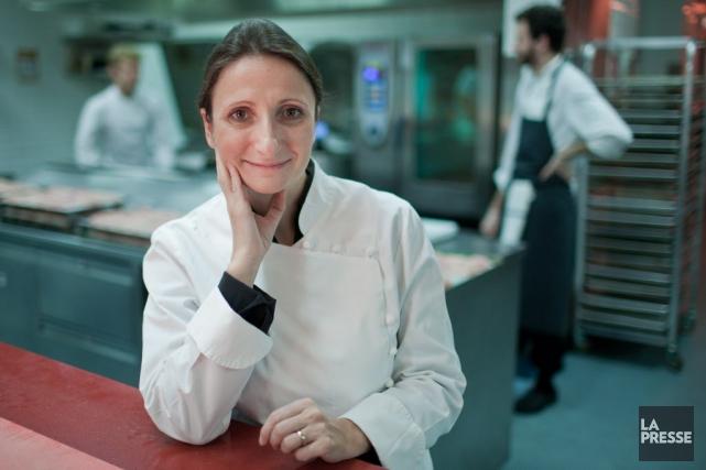 Anne-Sophie Pic est la seule chef française triple... (Photo EDOUARD PLANTE-FRÉCHETTE, ARCHIVES LA PRESSE)