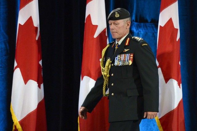 Dans une lettre adressée à tous les militaires,... (Photo Adrian Wyld, La Presse canadienne)