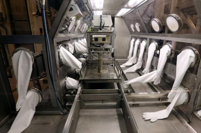 Les échantillons actifs envoyés par inadvertance venaient du... (Photo Kristin Murphy, archives The Deseret News)