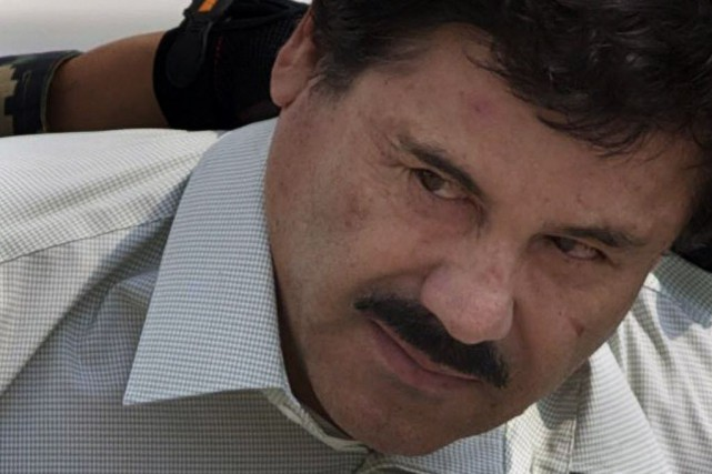 Le baron de la drogue, Joaquin «El Chapo»... (PHOTO EDUARDO VERDUGO, ARCHIVES AP)