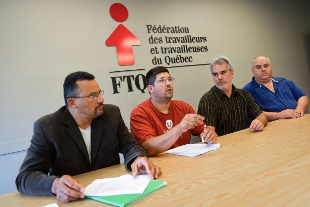 David Maden, conseiller régional à la Fédération des... (PHOTO: FRANÇOIS GERVAIS)