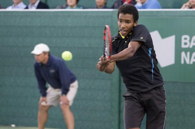 «Je suis ici pour jouer au tennis, pas... (photo Nicolas Racine)