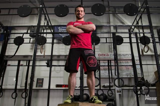 Mickael Sarrazin participait aux Jeux mondiaux de CrossFit... (Photo Ivanoh Demers, archives La Presse)