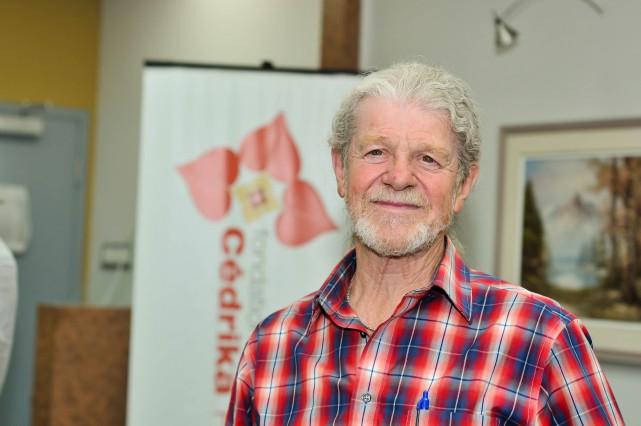 Henri Provencher, président de la Fondation Cédrika Provencher... (Photo: Émilie O'Connor)