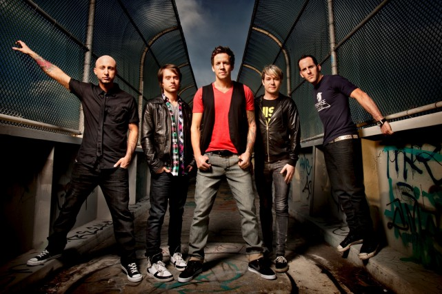 Le groupe montréalais Simple Plan en 2012... (Photo Chapman Baehler)