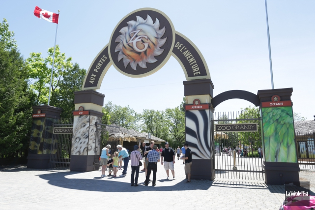 Le Zoo de Granby prend le virage numérique cet été. Deux nouvelles applications... (Archives La Voix de l'Est)