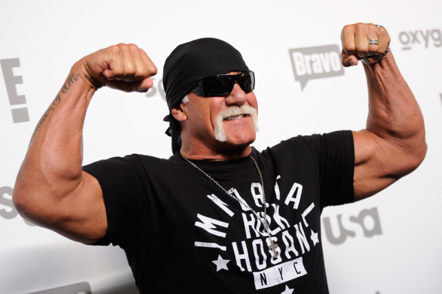 Hulk Hogan... (Photo Evan Agostini, AP)