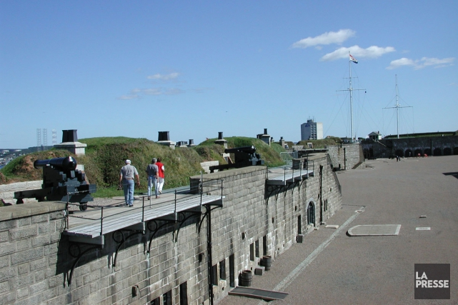 Le historique national de la Citadelle-d'Halifax.... (PHOTO ARCHIVES LA PRESSE)