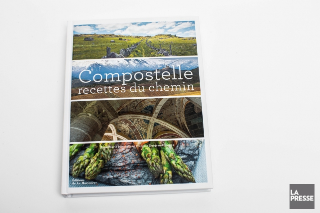 Compostelle, recettes du chemin, Anne-Marie Minvielle et François... (PHOTO OLIVIER PONTBRIAND, LA PRESSE)