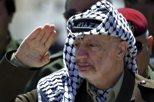 Yasser Arafat... (Photo archives Reuters)
