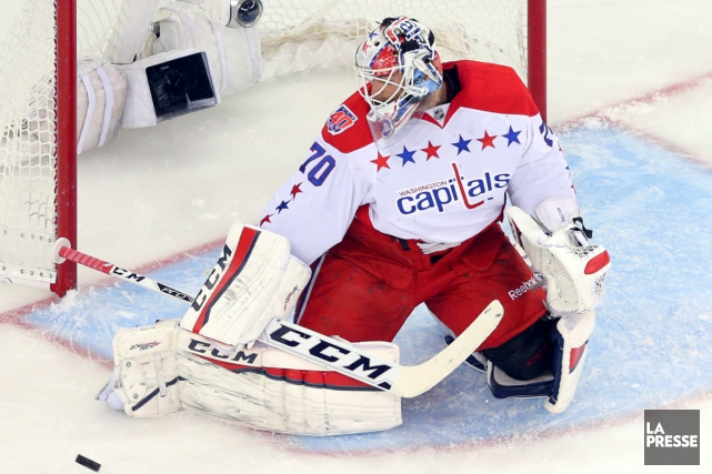Le gardien Braden Holtby touchera un salaire moyen de... (Photo Brad Penner, USA Today)