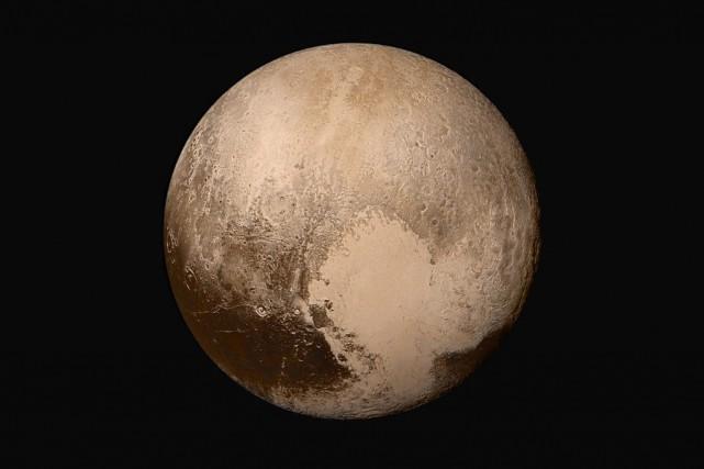 «Toutes les activités observées sur Pluton tendent à... (PHOTO AP/NASA)