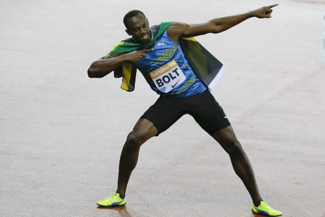 Usain Bolt... (Photo Kirsty Wigglesworth, AP)