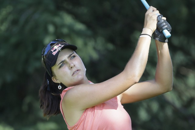 Lexi Thompson... (Photo Carlos Osorio, AP)