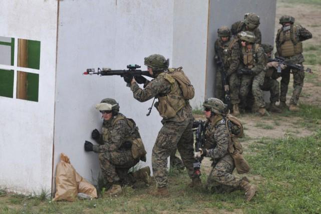 Cet entraînement portera à 244 millions de dollars... (Photo Pavlo Palamarchuk, AP)
