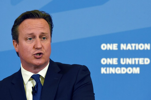 Le premier ministre britannique David Cameron.... (Photo Paul Ellis, AP)