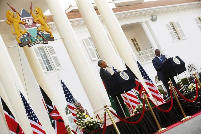 Le président américain Barack Obama (photo) et son... (Photo Jonathan Ernst, Reuters)
