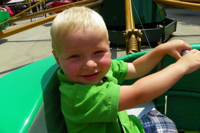 Le petit Dawson Lacroix est été retrouvé noyé... (Photo fournie)